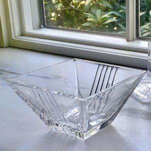Tiffany & Co. Crystal Art Deco Bowl